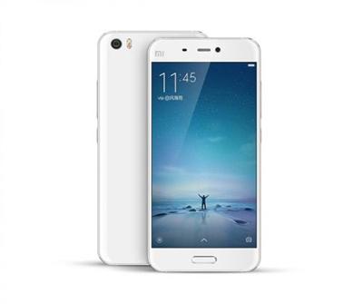 小米手机5采用了超窄边框设计