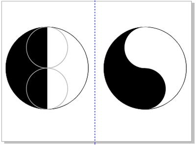 coreldrawx7画�_coreldraw x7制作太极图案的图文教程
