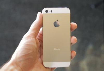 苹果5s掉马桶的照片