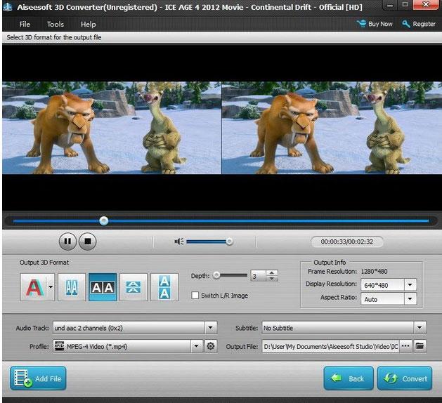 Помимо этого, он может изменять режим 3D-видео и конвертировать 3D в 2D. .
