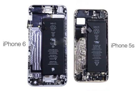 苹果4s手机内部结构图