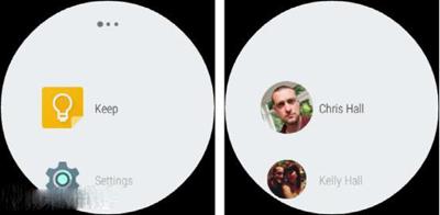 Android Wear 5.1全新的导航界面